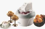 Аппарат для приготовления мороженого в домашних условиях